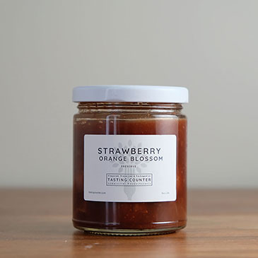 Strawberry Orange Blossom Preserve | Tasting Counter