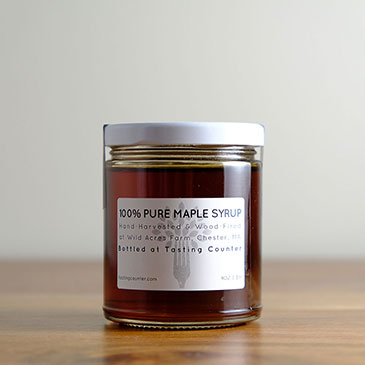 Pure Maple Syrup | Tasting Counter