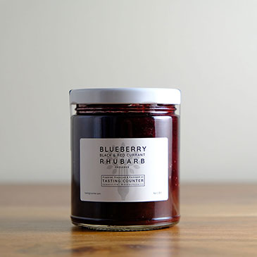 Blueberry, Rhubarb & Currant Preserve | Tasting Counter