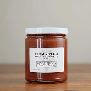 Fresh & Fermented Plum Preserve | Tasting Counter