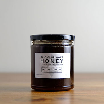 Raw Wildflower Honey | Tasting Counter