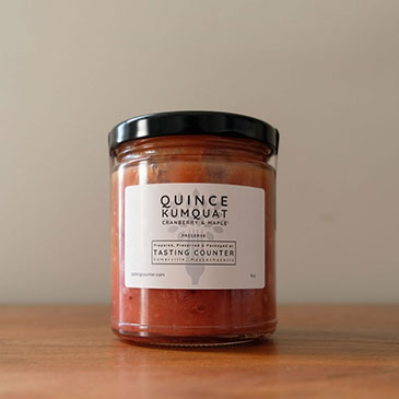 Quince Kumquat Cranberry Maple Preserve | Tasting Counter