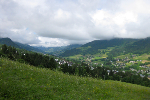 Megeve Clouds