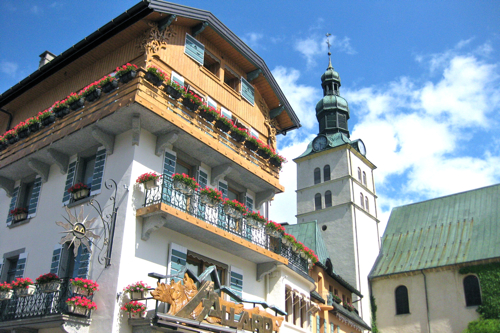 Megeve Village Center